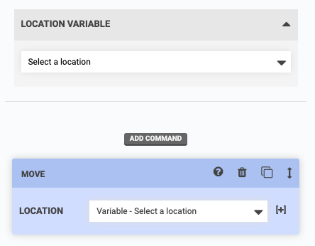 location variable